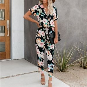 Vici Next Level Pocketed Jumpsuit - S